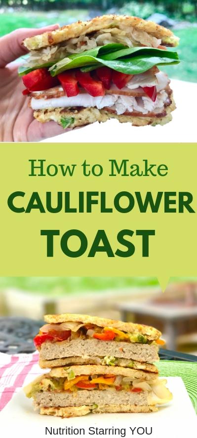 How to Make Cauliflower Toast
