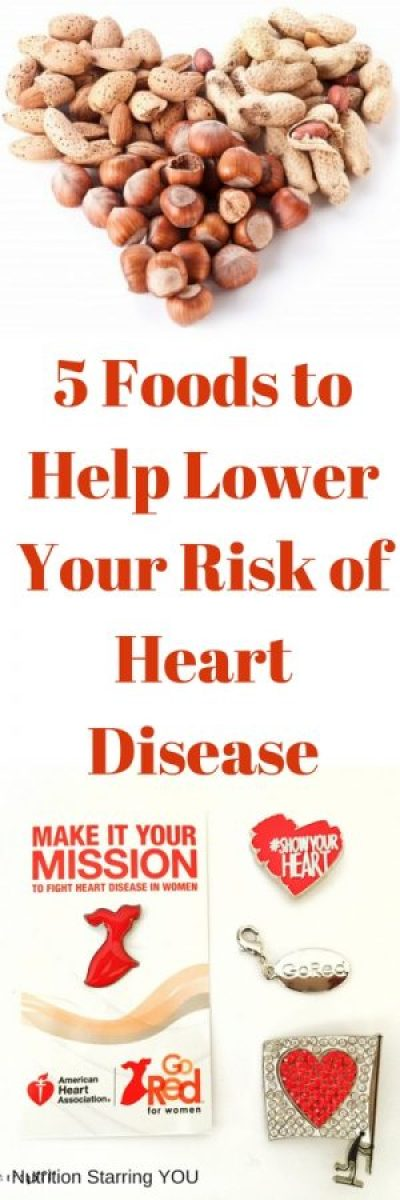 5 Foods to Help Lower Your Risk of Heart Disease