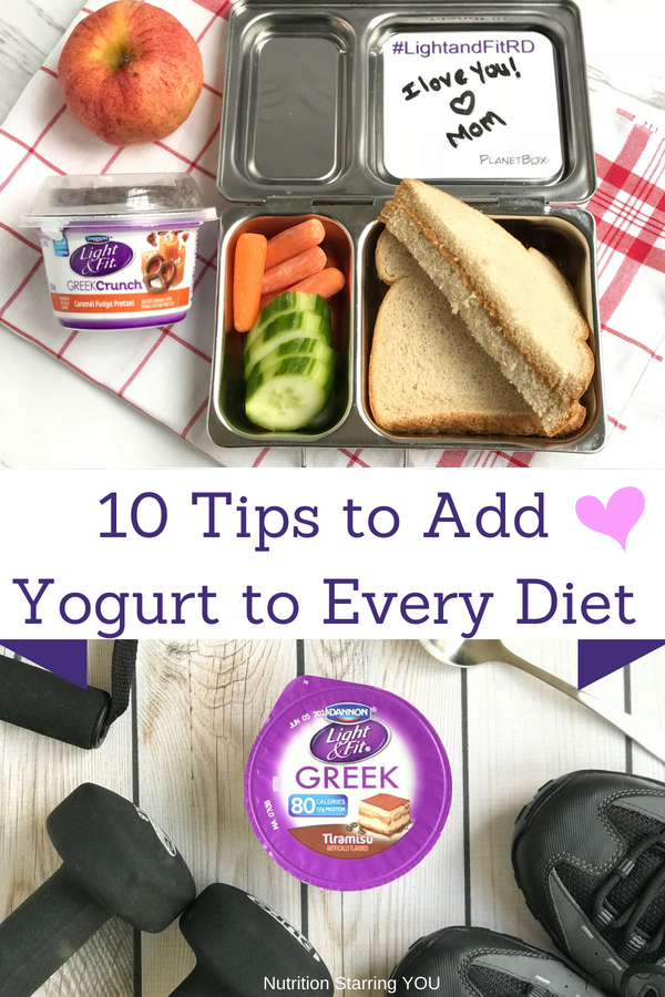 Simple Tips to Fit Yogurt into Every Diet