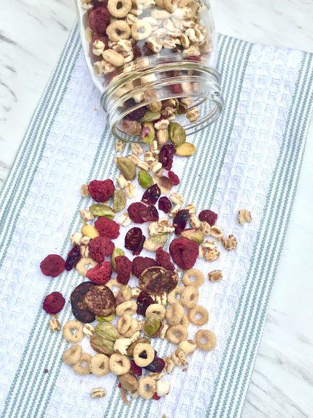 Trail Mix with pistachios