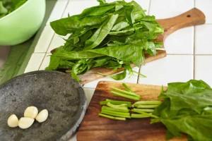 Garlic Spinach