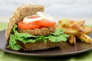 Quick & Easy Lentil Burgers Recipe