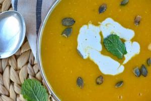 Butternut Squash Soup With Lentils Recipe