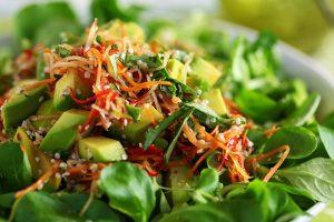 Mâche Salad with Apple, Avocado & Jalapeño Recipe
