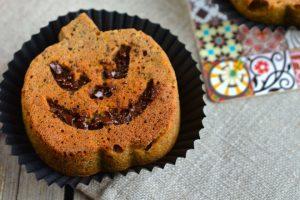 Butternut Squash Muffins for Halloween