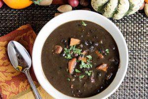 Black Bean Soup with Sweet Potatoes Recipe