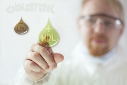 Cholesterol concept image