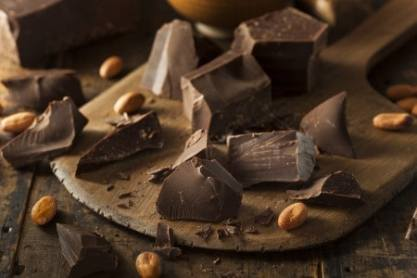 Chocolate on a board