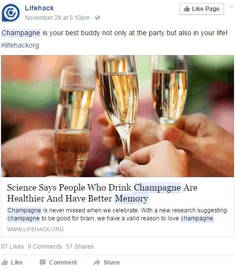 LifeHack Champagne Post