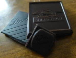 Chocolate square sizes