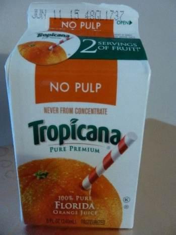 Tropicana Fruit Juice