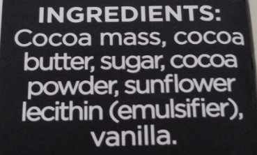 Divine ingredients list