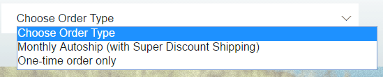 Order Type