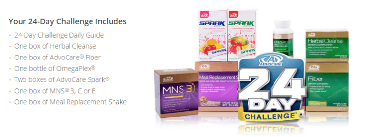 AdvoCare 24 Day Challenge Pack