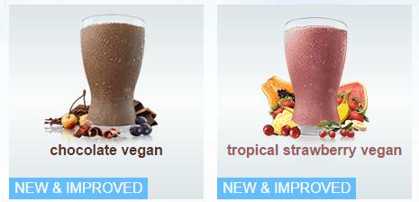 Vegan protein shakes