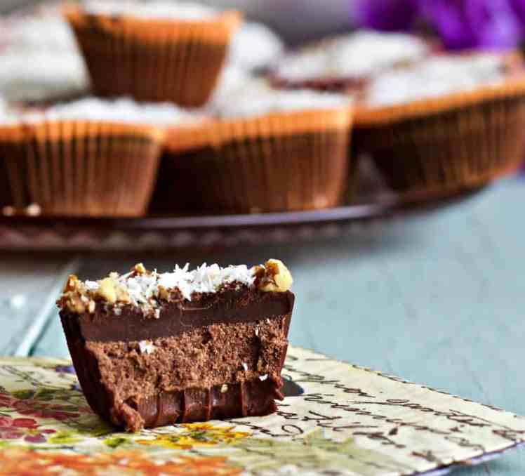 Chocolate Coconut Fat Bombs