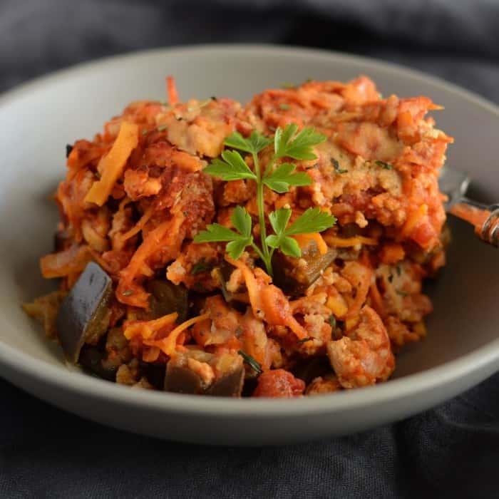 Turkey Sweet Potato Casserole