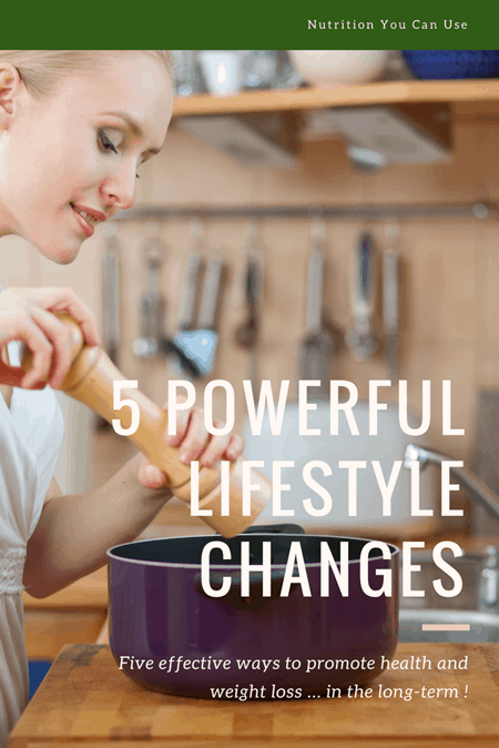 5 Powerful Lifestyle Changes to Promote Health and Weight Loss