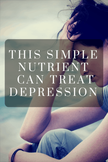 The Simple Nutrient That Can Treat Depression