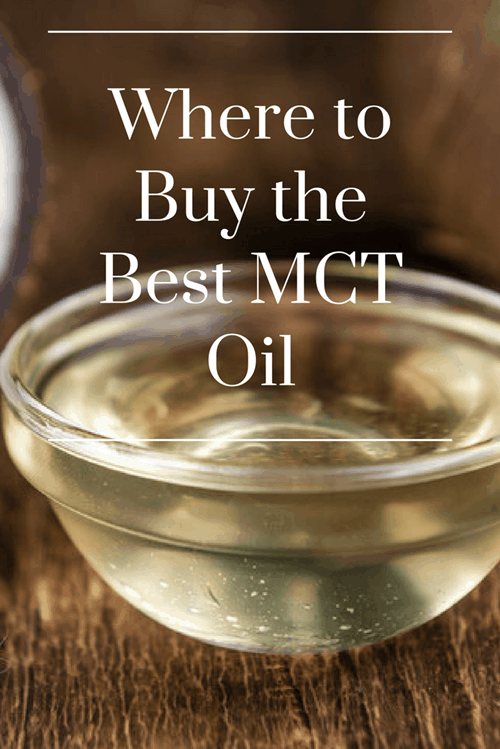 Where to Buy the Best MCT Oil