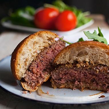 Free Range Bison Burgers