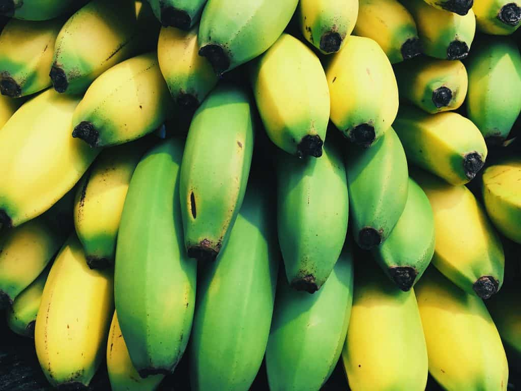 Banana colors