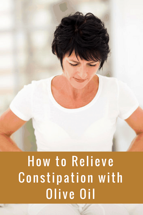How to Relieve Constipation with Olive Oil