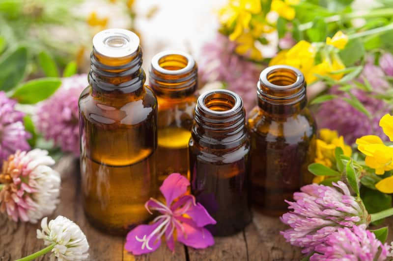 Selection of essential oils