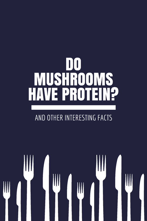 Do Mushrooms Have Protein_