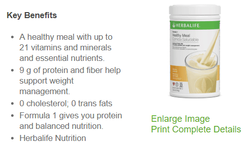 Key Benefits of Herbalife