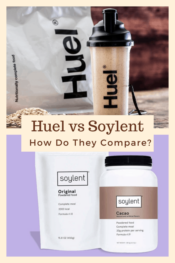 Huel and Soylent are both promoted as amazing meal replacement shakes and as alternatives to real food. But, how good are they really? This article looks at their differences and similarities, along with what each offers. Via @nutritionyoucan | #protein #Huel #Soylent #weightloss