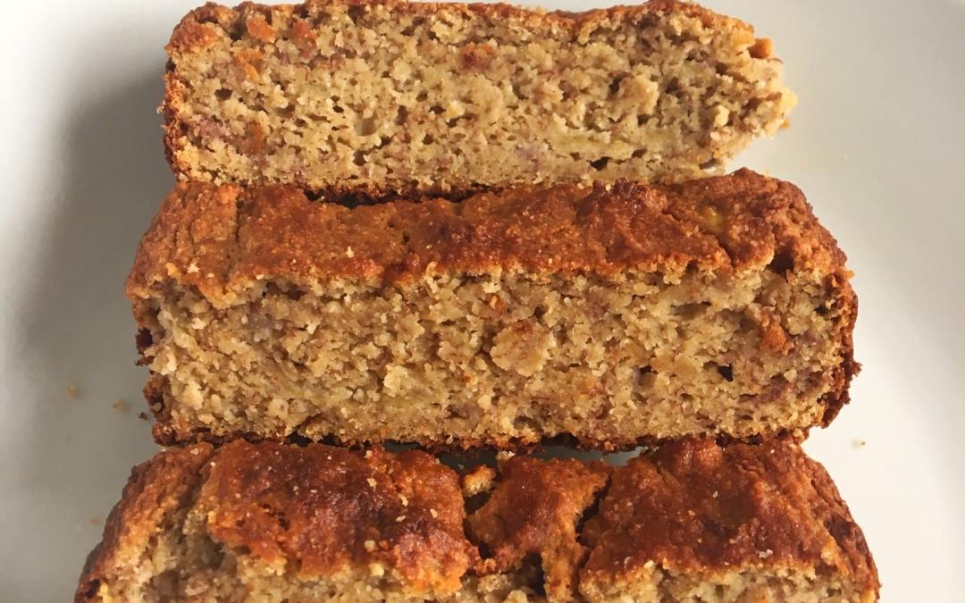 Almond and Coconut Flour Banana Bread