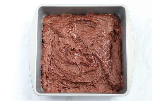almond flour brownie batter