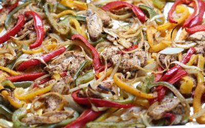 Sheet Pan Chicken Fajitas Recipe