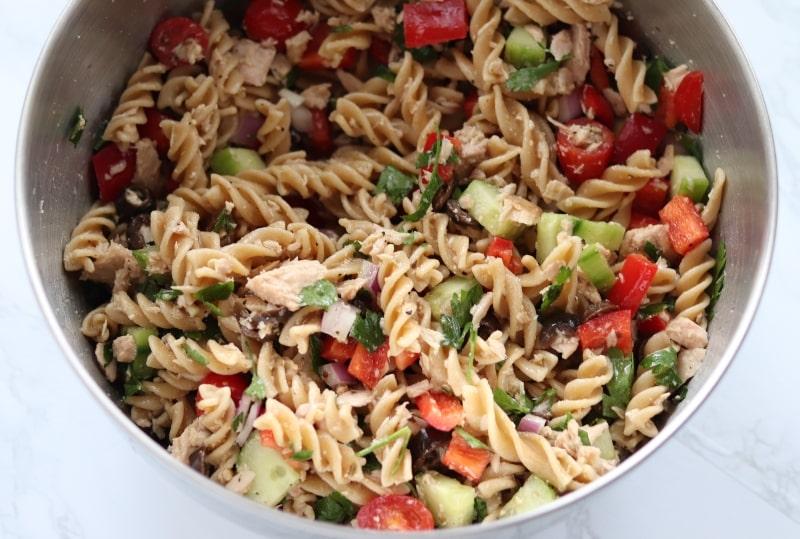 tossed pasta salad