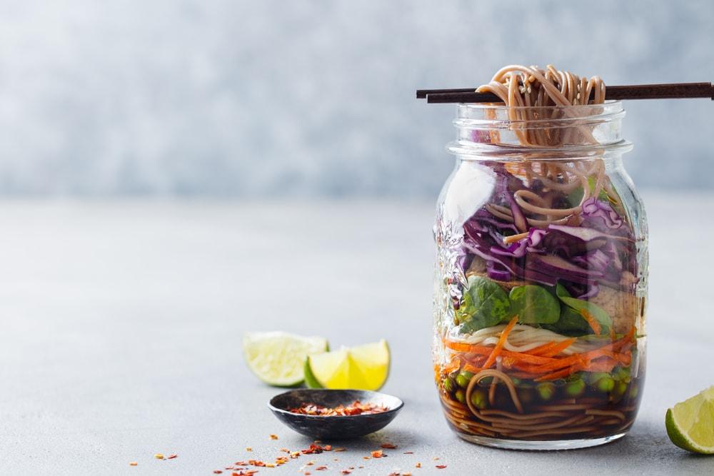 healthy food meal prep