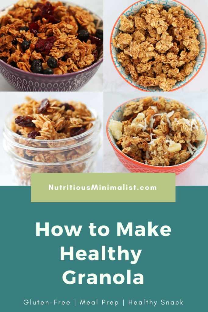 how to make granola pin