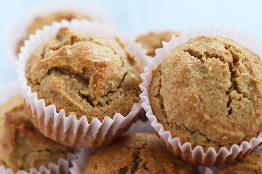 cinnamon almond flour muffin