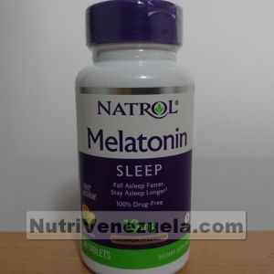 Melatonina de 10mg de Natrol