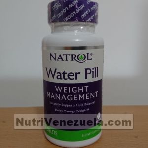Diuretico Natural. Water Pill De Natrol. 60 Tabletas