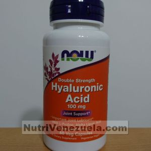 Acido Hialuronico 100 mg NOW