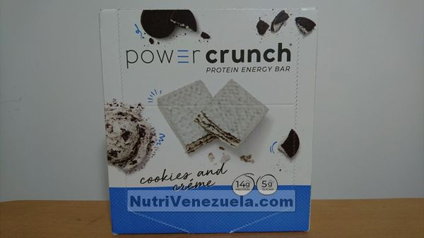 Power Crunch Barras De Proteina Venezuela