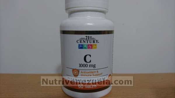 Vitamina C Venezuela 1000mg 60 tabletas