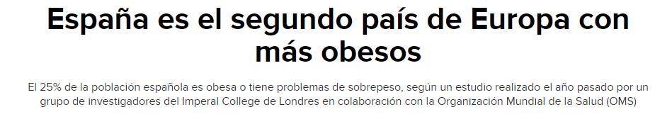 titular españa obesidad