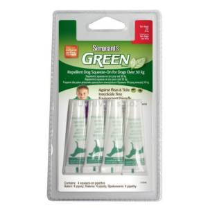 Green Brand Repellent Dog Squeeze-On for Dogs over 30 kg