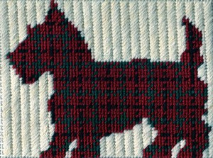 plais scottie dog silhouette