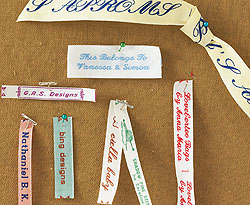 Labeling your Needlepoint