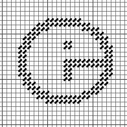 """Come Stitch with Me – Celebrate Sampler """"E"""""""