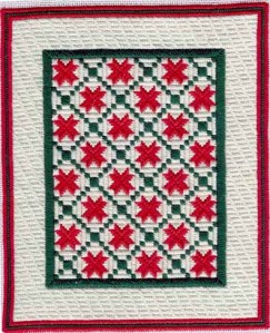 Turning Quilt Patterns into Needlepoint
