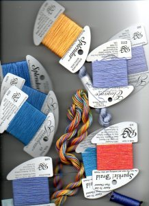 Creating a Color Scheme Based on an Overdyed Thread